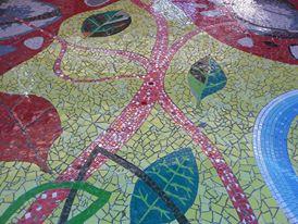 Mosaic mural design