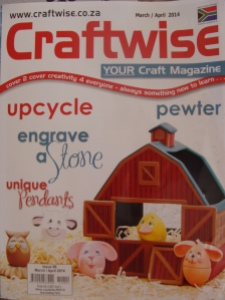 Mosaic in Craftwise magazine
